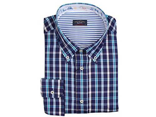Paul & Shark Yachting Langarm Hemd Long Sleeve Shirt Größe 43 17