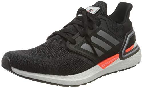 adidas Ultraboost 20 W, Zapatillas de Running Mujer, NEGBÁS/HIEMET/Carbon, 45 1/3 EU