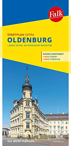 Falk Stadtplan Extra Standardfaltung Oldenburg 1:17 500 (Falk Stadtplan Extra Standardfaltung - Deutschland)