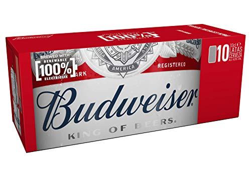 Budweiser Cerveza, 10 x 0.33Cl