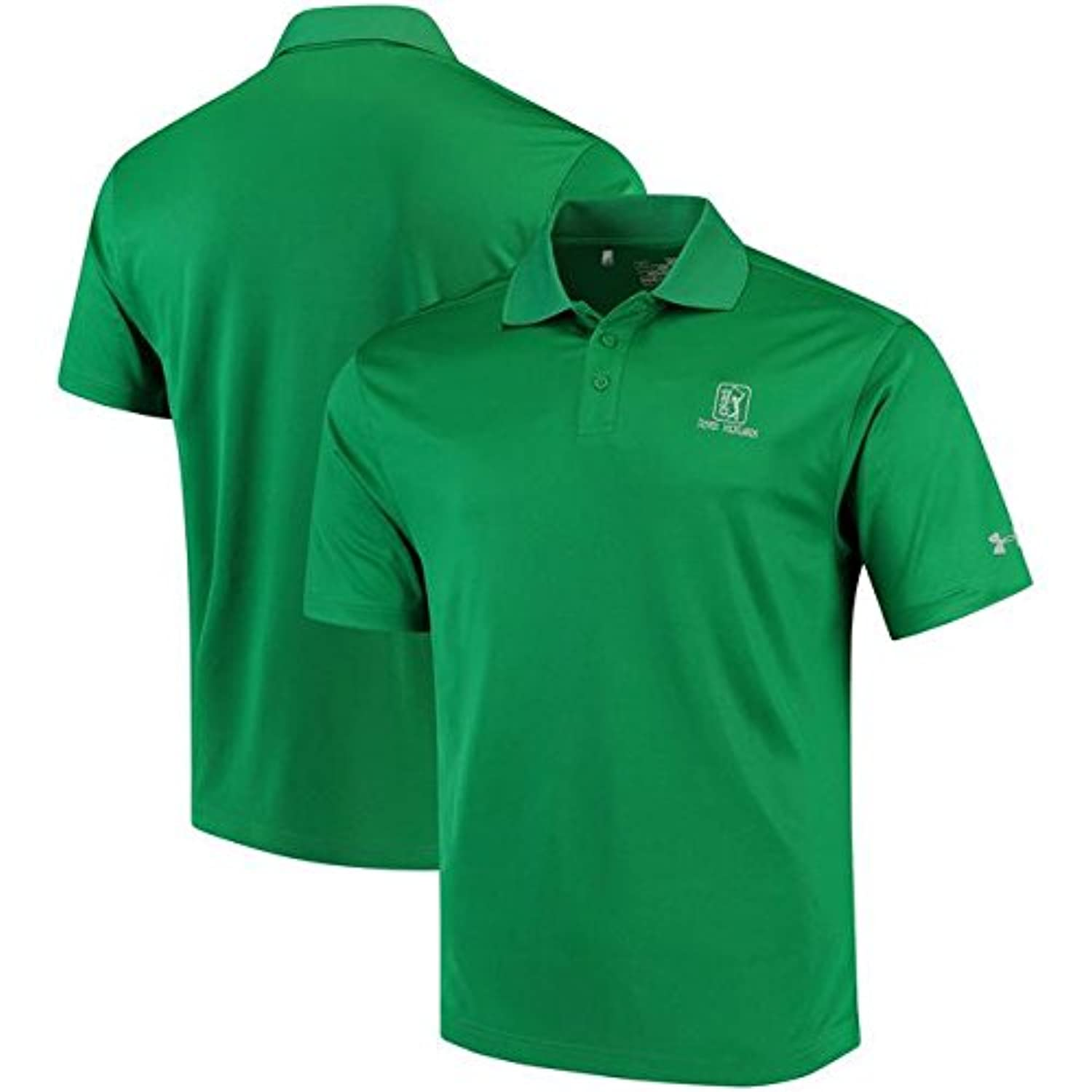 Under Armour Under Armour TPC River Highlands Kelly Green Performance Polo スポーツ用品 【並行輸入品】