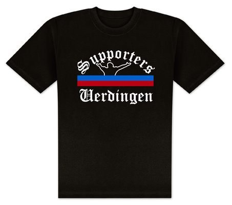 World of Football T-Shirt Supporters-Uerdingen - M