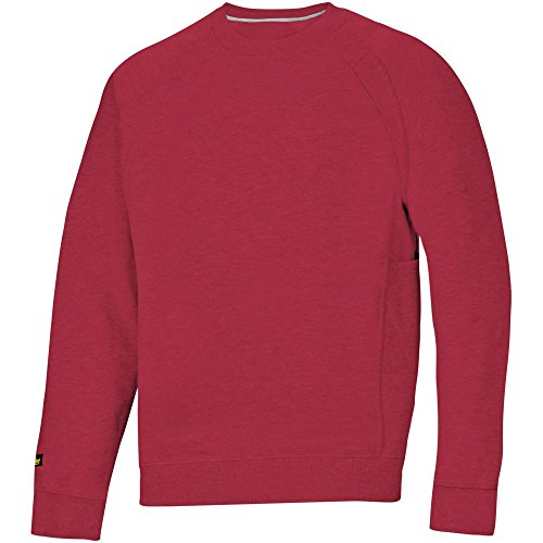Snickers 28121600003 Sweat-shirt avec MultiPockets Taille XS rouge chili