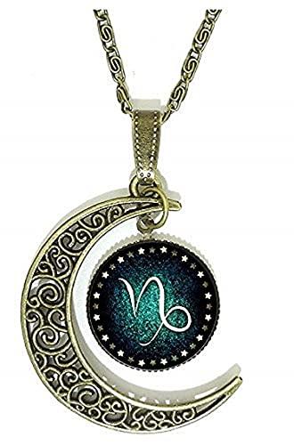 LUIDILUC Collar signo sagitario zodiacal Capricornio.