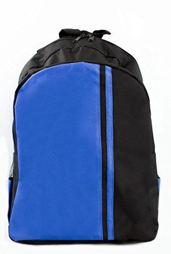 POWERSHOT® Sac à Dos – Rouge/Noir – Bleu/Noir – Haute Qualit Idéal pour l'école – Sac de Sport, Blue/Black Unbranded