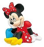 Bully Bullyland 15210-Hucha, Walt Disney Minnie Mouse, aprox. 18 cm de altura, un gran regalo niñas, ideal para el ahorro y el dinero de bolsillo, color blanco (B15210)