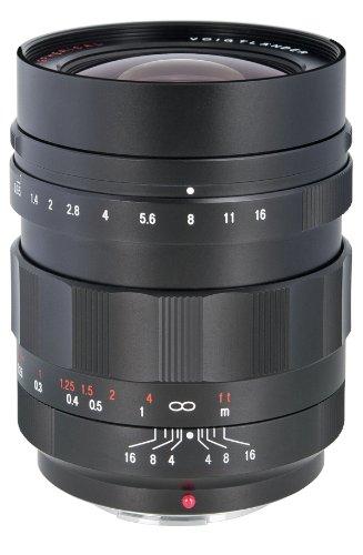 Voigtländer Nokton 17.5mm F0.95 - Objetivo (SLR, 13/9, 1.75 cm, Negro, 6.34 cm, 5.8 cm)