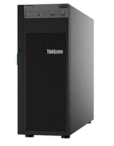 Lenovo ThinkSystem ST250 Tower Server Including Intel Xeon 3.3GHz CPU, 32GB DDR4 2666MHz RAM, 8TB HDD Storage, JBOD RAID