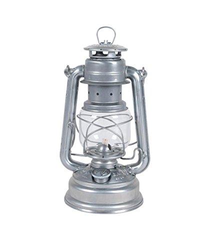 Feuerhand 8219640 Lanterne de tempête galvanisée, Acier, Argent, 26 cm