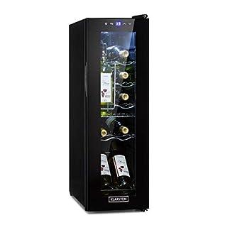 Klarstein-Shiraz-Slim-Weinkhlschrank-Energieeffiezienzklasse-A-5-18-C-42-dB-Soft-Touch-Bedienfeld-LED-Beleuchtung-freistehend