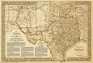 Best western cattle trail map Reviews