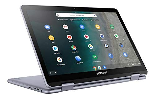 Samsung 12.2-inch Full-HD Touchscreen Chromebook - Intel 3965Y Dual-Core - 4GB Memory - 32GB eMMC Storage - Stealth Silver (Verizon) (Renewed)