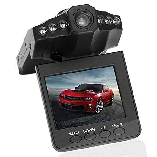 Caméra de Voiture Embarquée Avant, 1080P Enregistreur de Conduite HD Grand Angle avec 2,5 Pouces Vision Nocturne, TFT LCD Rotation de 270° Détection de Mouvement Enregistrement en Boucle