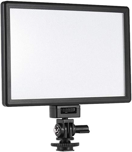 VILTROX L116T CRI95+ Super Slim Dimmable LED Light Panel,Bi-Color 3300K-5600K LED Video Light with LCD Control/Light Mount