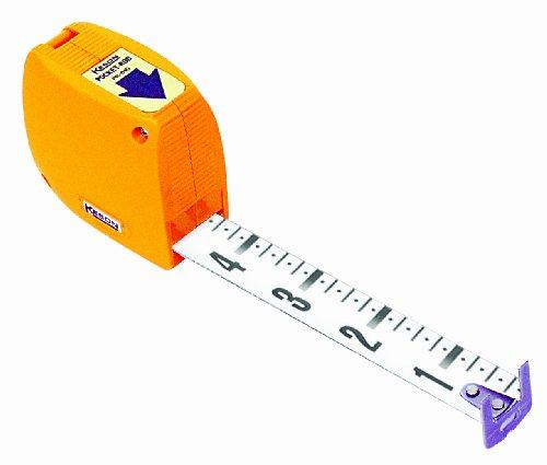 Keson PR618 Builder's Pocket Rod (Units: Foot & Inch), 6-1/2-Foot