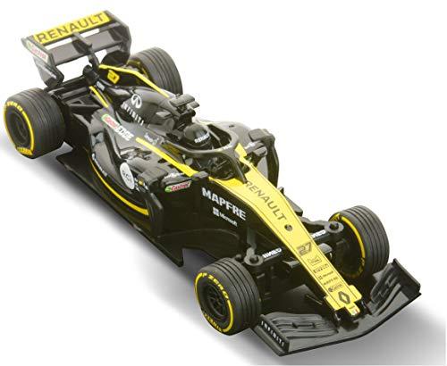 Renault Sport – Renault F1 Team – Coche Fórmula 1 radio controlado – Nico Hülkenberg – R.S. #27 – Temporada 2019 – Licencia oficial – escala 1:43
