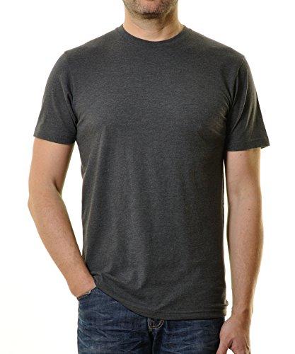 Ragman Herren T-Shirt Rundhals Singlepack  XL,  Anthrazit