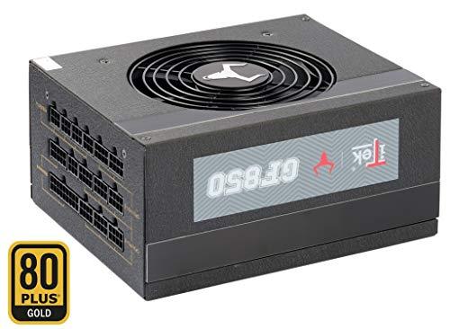 ITEK Alimentatore TAURUS GF850-850W, 80Plus Gold, Ventola FDB 12cm, Cond Giapponesi, Modulare