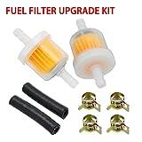 housesweet - Filtro de combustible en línea para coche, gasolina, filtros de combustible en línea, para máquinas de moto, ATV
