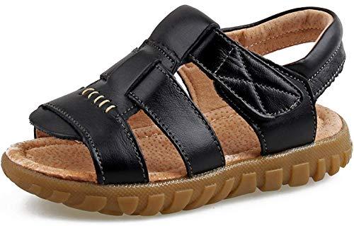 Saldgoiz Niña Niño Zapatos Sandalias Deportivas con Punta Cerrada de Senderismo Trail Zapatillas de Playa de Verano para Niños 21-34