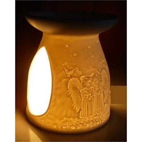 Duftlampe Porzellan Engel - 12 cm