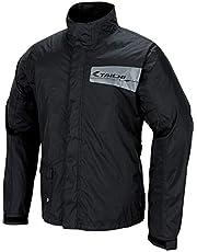 RSタイチ(アールエスタイチ) レインバスター レインスーツ 上下セット 防水・透湿 ブラック XXL [RSR046]