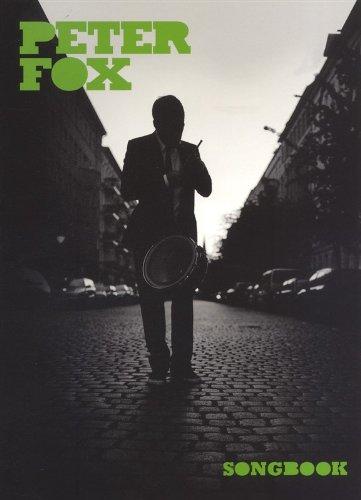 PETER FOX Songbuch piano/vocal/guitar mit Bleistift -- Das das Songbook mit allen Songs vom erfolgreichen Album STADTAFFE arrangiert für Klavier, Gesang und Gitarre (Noten / sheet music)
