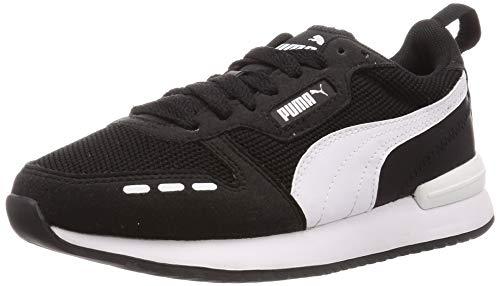 PUMA Unisex-Erwachsene R78 Niedrig, Schwarz Black White, 39 EU