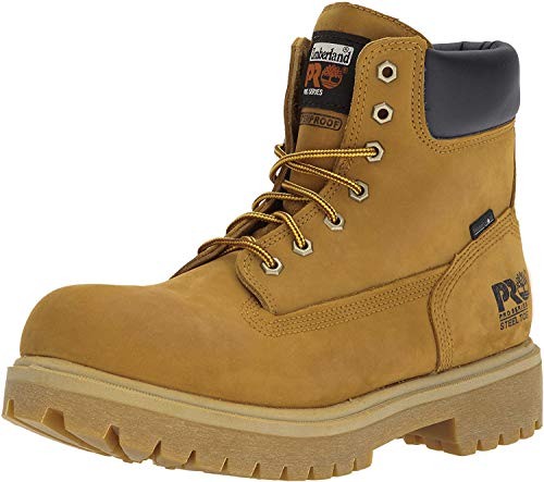 """Timberland PRO Men's 65016 Direct Attach 6"""" Steel Toe Boot,Yellow,13 M"""