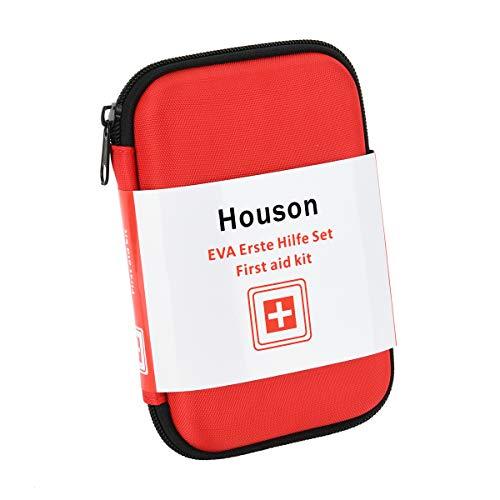 Erste Hilfe Set, HOUSON Notfall Apotheke, 68 teilig Medizinische Notfalltasche First Aid Kit mit Verband Pflaster Reisen Wandern Auto Camping Sport