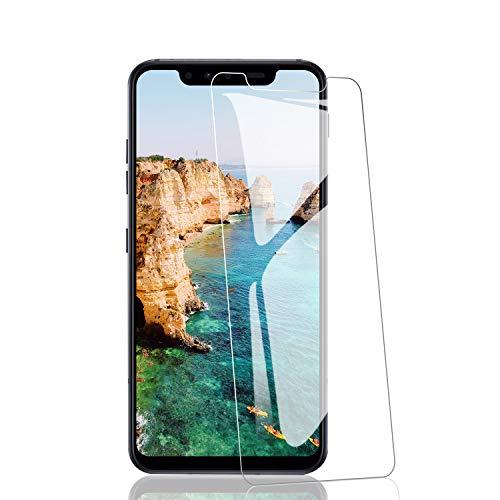 RIIMUHIR Verre Trempé pour LG G8S [2 pièces], Films et Protections d'Écran pour LG G8S, Film Protecteur en Verre Trempé [HD et Transparent] [Anti-Empreintes]