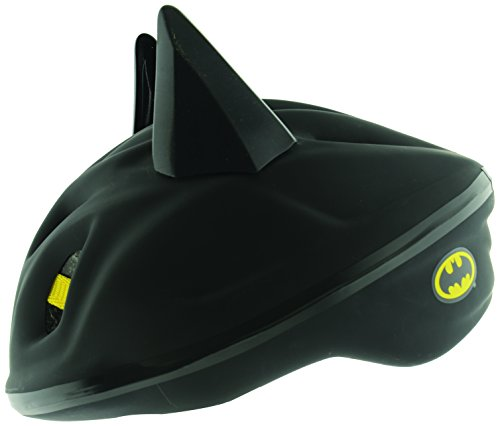 Batman Boy's 3D Schutzhelm - Schwarz, 53-56 cm