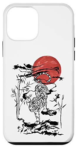 iPhone 12 mini Asian tiger | Japanese ink drawing | Sumi-e painting Zodiac Case