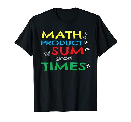 Profesor de matemáticas regalo diciendo gráfico frase inteligente aula Camiseta