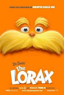 Dr Suess The Lorax Movie Book Lorax Earrings #2