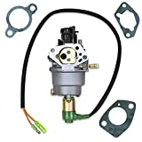 Everest Parts Supplies Carburetor with Solenoid Compatible with Huayi HY140 140 Generator Type B Gas Engines Gaskets Included