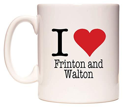 I Love Frinton and Walton Taza por WeDoMugs®