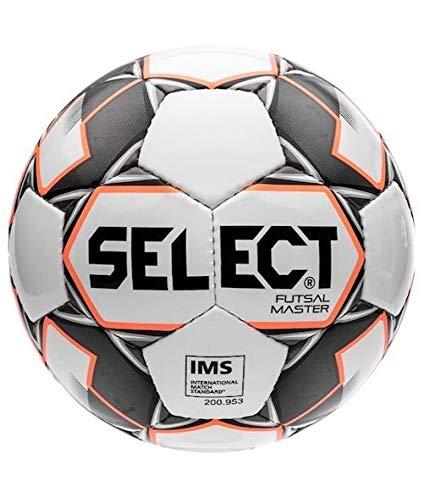 Select Master Ball, Erwachsene, Unisex, Weiß/Orange/Schwarz, offizielle Größe