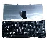 F-Mingnian-rsg Teclado de computadora portátil Compatible con Acer Compatible con TravelMate 5740 5740G 5740Z 5740ZG 5742 5742G 5742Z 5742ZG 5744 5744Z Color Negro EE. UU. Edición de Estados Unidos.