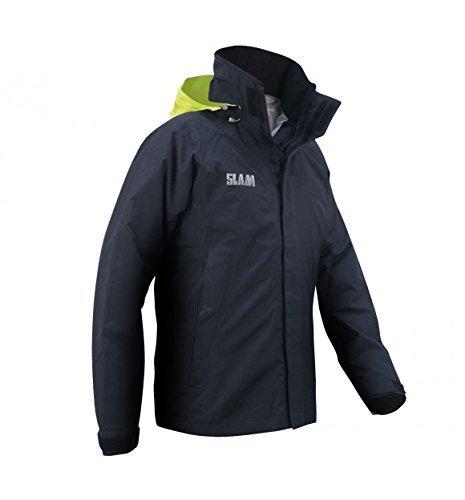 Slam Force 1 - Chaqueta impermeable (10,000 mm, 100% nailon), S, Marino