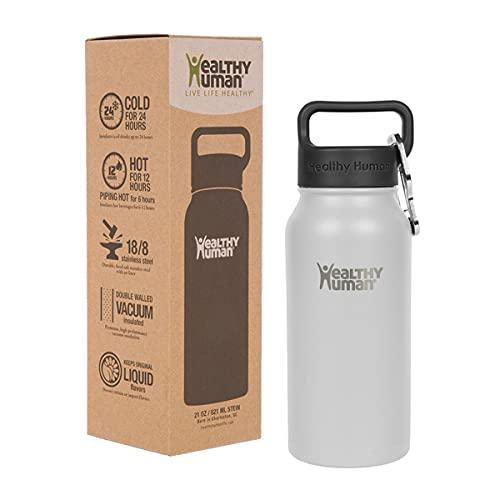 Healthy Human Water Bottle Stein, Lightweight BPA...