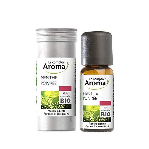 Le Comptoir Aroma Huile de Massage Menthe Poivrée 10 ml