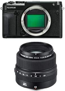 Fujifilm GFX 50R Medium Format Mirrorless Camera (Body Only) FUJINON GF 63mm F/2.8 R WR Lens