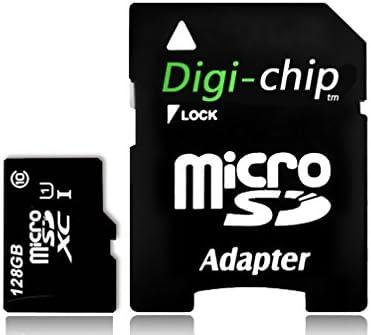 Digi-Chip 128GB Micro-SD Memory Card for Nextbase Dash Cam 222, 322GW Dash Cam Camera Memory Card