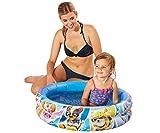 Smart Planet Planschbecken Paw Patrol aufblasbar - 74 x 18 cm - 2-Ring-Pool Fellfreunde - Kinderpool - Babypool - Schwimmbecken - Aufstellpool
