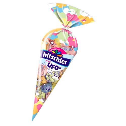 Hitschler Brizzl Ufos Brausepulver-Füllung mit Frucht-Geschmack, 4-fach sortiert 75g