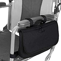 Best Bags for Wheelchairs and Walkers #5 - Vive Wheelchair Carry Bag