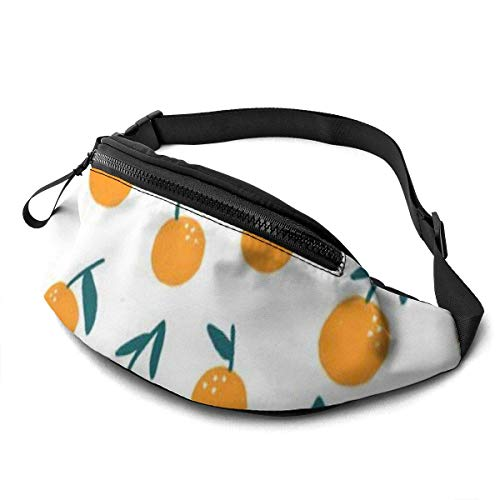 XCNGG Bolso de cintura corriente bolso de cintura de ocio bolso de cintura bolso de cintura de moda Peaches Background Fanny Packs for Women and Men Waist Bag Adjustable Belt for Outdoors Workout, Tra
