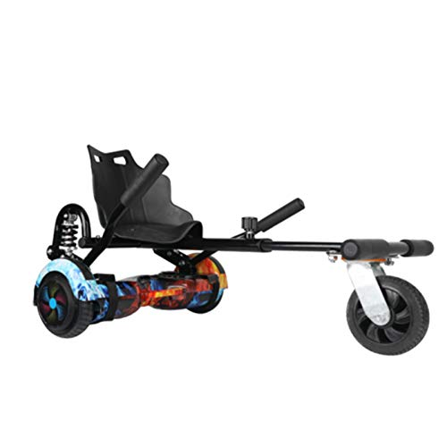 NFJ Hoverboard Carrito Hoverboard Asiento Accesorio Hoverboard Go Kart Carrito Hoverboard Eléctricos...