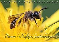 Bienen - Fleissige Gartenbewohner (Tischkalender 2022 DIN A5 quer): Faszinierende Nahaufnahmen der kleinen Nuetzlinge (Monatskalender, 14 Seiten )